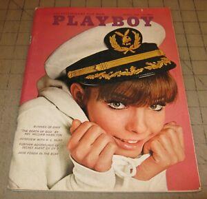 PLAYBOY-Aug-1966-GD-Condition-Magazine-Susan-Denberg-PMOTM-Dixie-Playmates