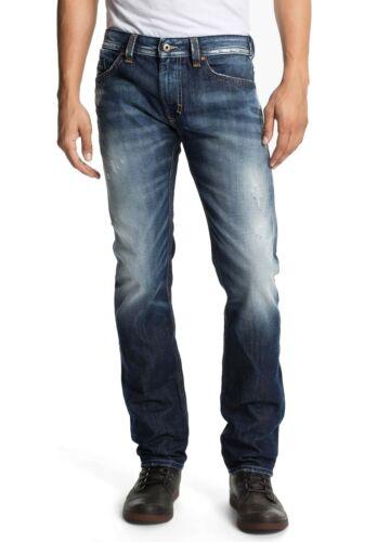 DIESEL Uomo Jeans-PantaloniSlim Skinny FitTHAVAR 0810lBlu Scuro