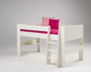 Etagenbett Modern : Etagenbett halbhohes bett leiter weiss stockbett modern ebay