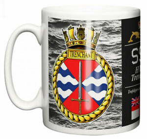 Royal-Navy-HMS-Trenchant-Ceramic-Mug-Trafalgar-Class-Submarine-Pennant-S91