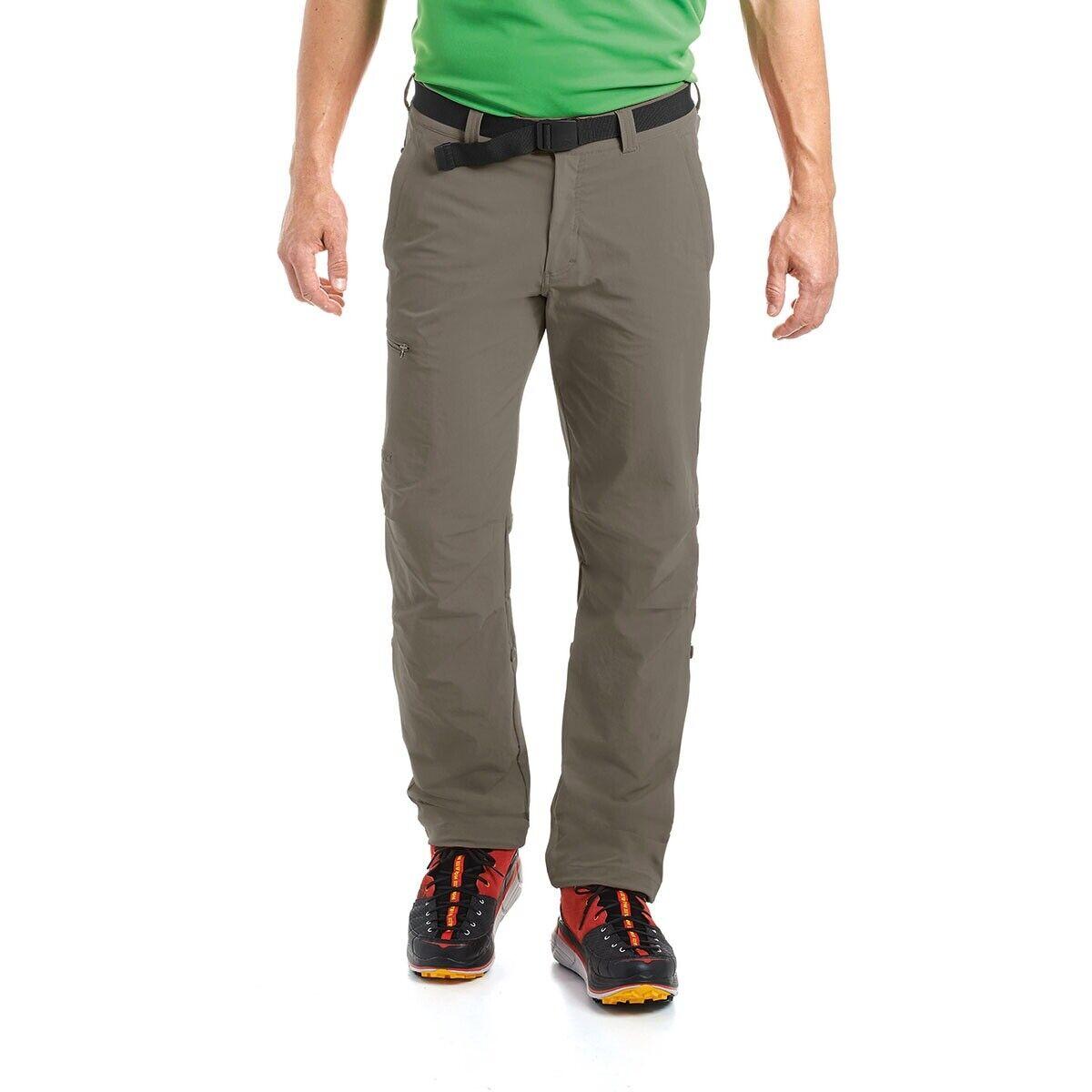 Maier Sports Nil rossoelle Up Pantaloni da Trekking Teak Canneto