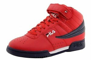 bd4053d6ccff2 Image is loading Fila-F-13-Red-Navy-White-GS-3VF80117-