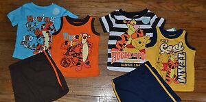 Disney-Baby-3-Piece-Tigger-or-Winnie-the-Pooh-Summer-Short-Set-Official-Licensed