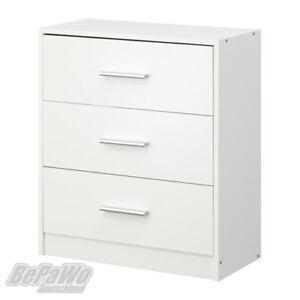 IKEA VIGRESTAD Kommode mit 3 Schubladen Schrank Kleiderschrank ...