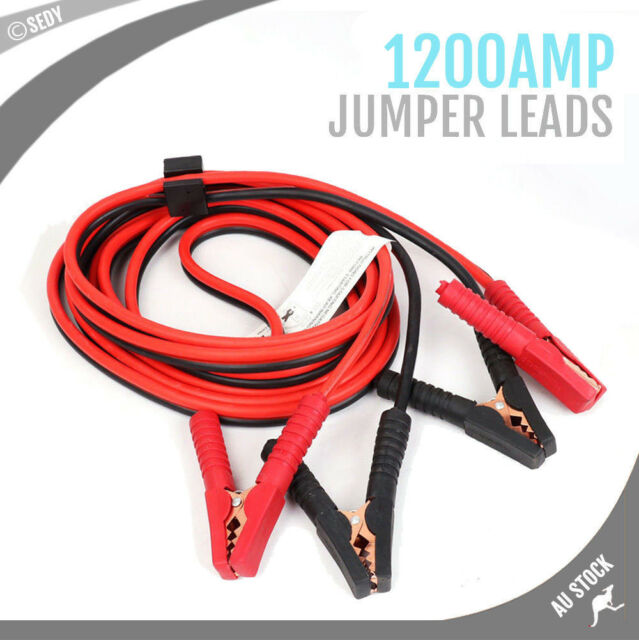 2 5m 1200 Amp Car Jumper Leads Jump Start Starter Booster Cable Surge Protection