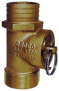 "New Pipe-to-hose Adapters 45 deg groco Pthd-1250 Hose 1 1//4/"" ID 1 1//4/"" NPT 3.3"