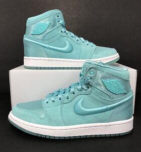 Contiene escritorio clima  Nike Wmns Air Jordan Retro 1 High SOH 'Son of Her' Light Aqua AO1847-440 Sz  6.5 | eBay