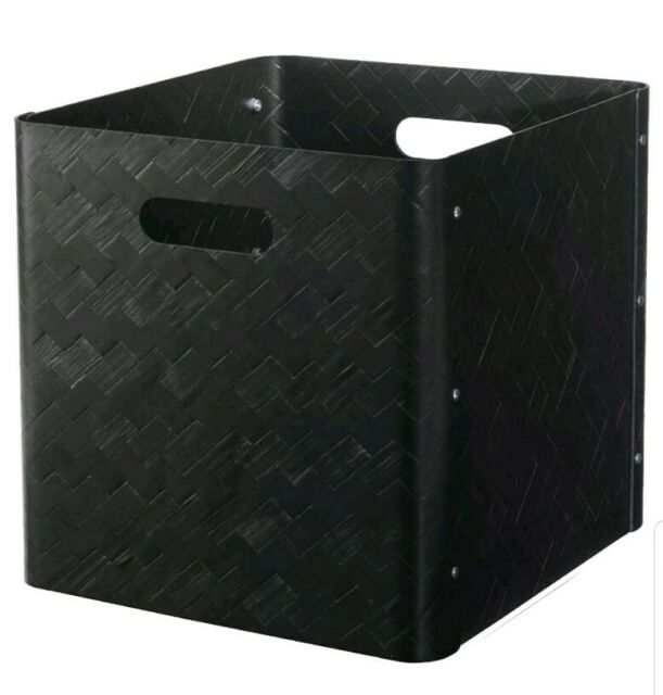 "IKEA BULLIG Box Bamboo 12 ½ x 13 ¾ x 6 ¼ /"""