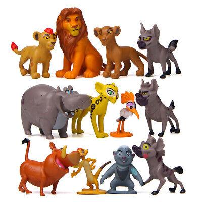 12cps The Lion King Lion Guard Action Figure Playset Simba Kion Timon Pumbaa