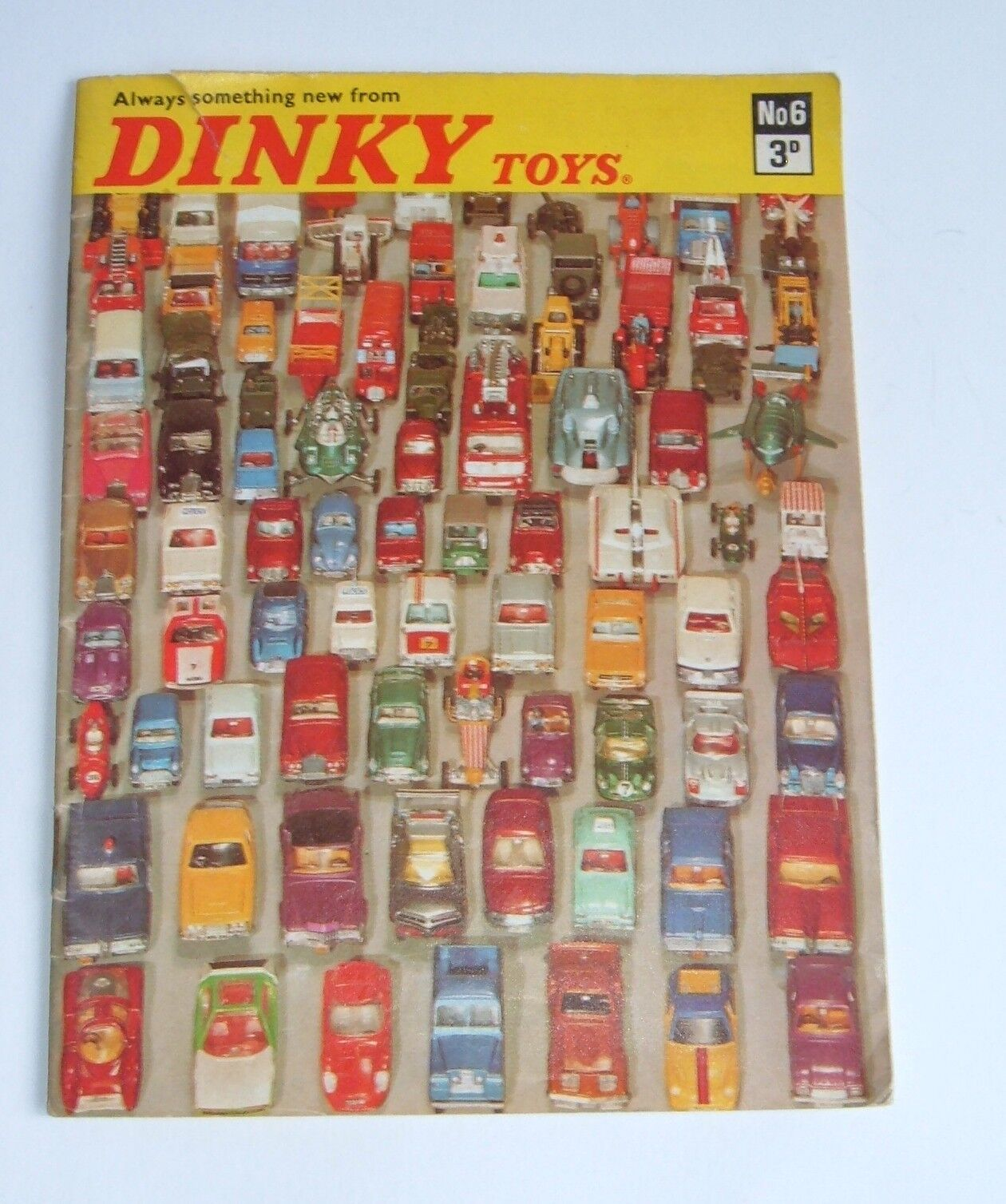 Dinky Toys Catalogue No. 6, Price 3d, Dated May 1970, - Superb.