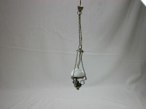 Heidi Ott Dollhouse Miniature Light 1:12 Scale Hanging Lamp #YL5012AG