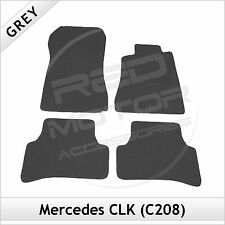 Tailored Carpet Floor Mats for MERCEDES CLK C208 1997-2003 GREY