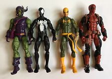 Marvel Legends Green Gobline Spider-Man Iron Fist Deadpool Loose Lot of 4