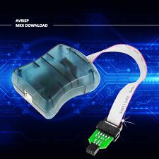 1 Set Avrisp Mkii Downloader Compatible With Original Programmer Usb Avr Isp