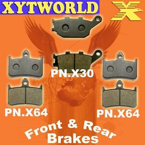 Front Rear Brake Pads Honda CB1000 CB 1000 FP/FR/FS/FT