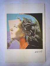 Andy Warhol Litografia 57 x 38 Arches France Timbro Secco Galleria Arte A021