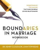 Boundaries In Marriage Workbook By Henry Cloud, (paperback), Zondervan , New, Fr on Sale