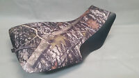 Yamaha Yfm450 Grizzly 450 Seat Cover 2-tone Conceal & Black Front Sides