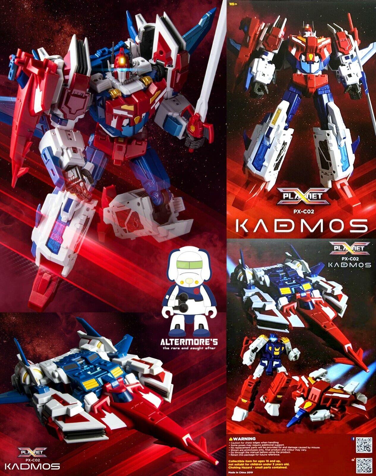 Transformers Masterpiece Planet X PX-C02 Kadmos aka IDW Starsaber Brand new
