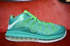 "promo code 53928 553c3 item 1 NIKE AIR MAX LEBRON 10 LOW ""EASTER"" 2013 579765 300 Size 8.5 Emerald  Green -NIKE AIR MAX LEBRON 10 LOW ""EASTER"" 2013 579765 300 Size 8.5 Emerald  ..."