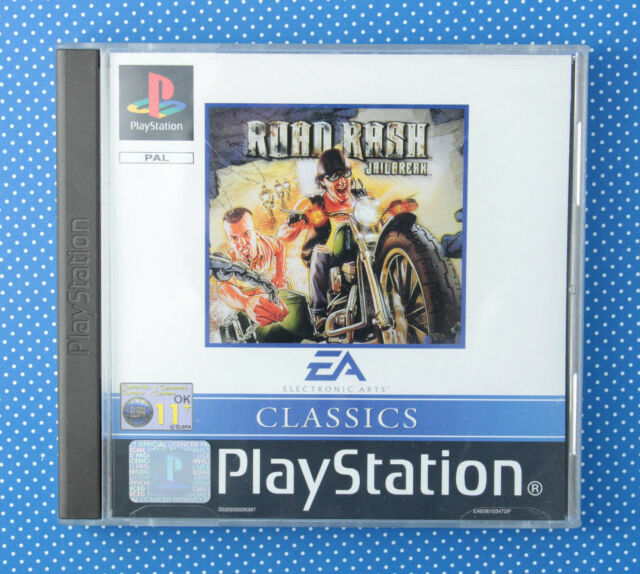 Road Rash: Jailbreak (Sony PlayStation 1, 2000, Keep Case)