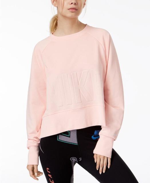 nike dry cropped training sweatshirt