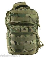 NEW - Kombat BTP Multicam MOLLE Recon 10 Litre Shoulder Slung Satchel Bag