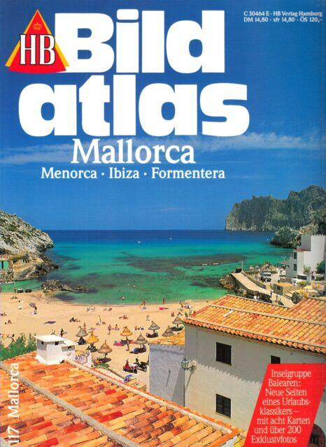 HB Bildatlas Nr. 117, Mallorca, Menorca, Ibiza, Formentera, 1994