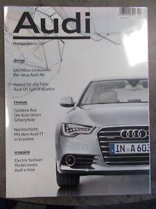 Zeitschrift Audi Magazin Ausgabe 04/2010 neu und original verpackt - Adlersteige, Deutschland - Zeitschrift Audi Magazin Ausgabe 04/2010 neu und original verpackt - Adlersteige, Deutschland
