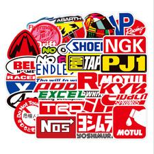 Jdm Stickers Pack Car Motorcycle Racing Motocross Helmet Vinyl Decals 100pcs