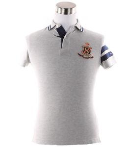 Tommy-Hilfiger-Men-039-s-Short-Sleeve-Logo-Pique-Polo-Shirt-0-Free-Ship