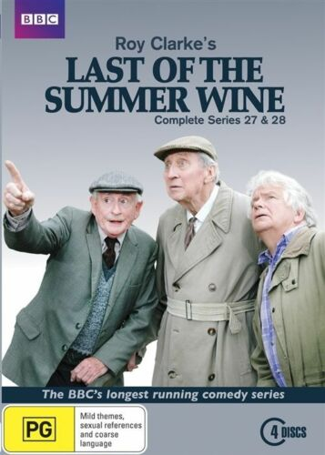 1 of 1 - Last Of The Summer Wine : Series 27-28 (DVD, 2016, 4-Disc Set) (D165)