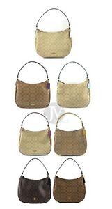 Coach-F29209-Signature-Zip-Hobo-Shoulder-Bag-Handbag