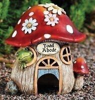Garden Toad House Frog Home Outdoor Decor