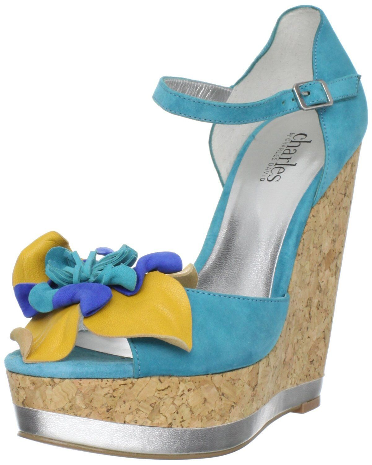 New Charles by Charles David Women's Delightful Wedge Sandals size 9.5