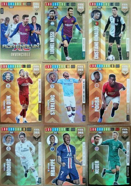 Panini FIFA 365 Adrenalyn XL 2018 Rare