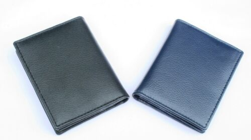 Elephant Black Or Blue Real Leather Bifold Card Holder and Wallet Gift 116