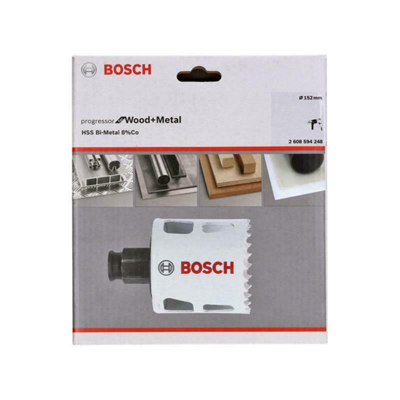 Bosch Bi-Metall Lochsäge Progressor for Wood & Metal 152mm