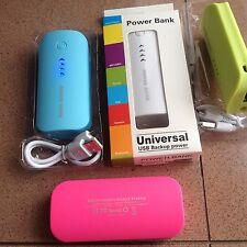 POWER BANK (carica batteria esterna)5600 mah PORTATILE USB UNIVERSALE SMARTPHONE