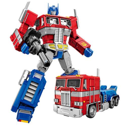 """Tamanho Grande MMP10 G1 Optimus Prime Boneco de ação de Brinquedo Nova Na Caixa 12/"""" Olhos De Luz"""