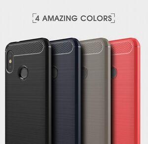 Housse-etui-coque-silicone-gel-carbone-pour-Xiaomi-Mi-A2-Lite-film-ecran