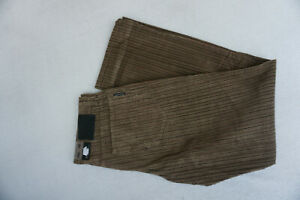 ALBERTO-Tim-Herren-Men-Jeans-comfort-cord-Hose-Gr-46-34-32-W34-L32-braun-NEU-E1