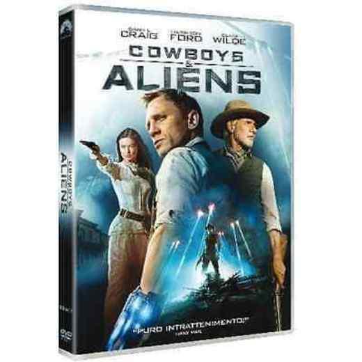 Dvd COWBOYS & ALIENS - (2011) - *** Contenuti Speciali ***   ......NUOVO