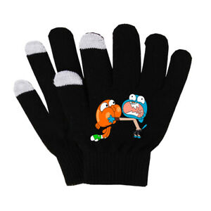 Anime-The-Amazing-World-of-Gumball-gloves-winter-warm-keep-Touch-Mittens-gloves