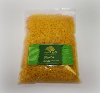100% PURE BEESWAX PASTILLES YELLOW BeesWax ORGANIC COSMETIC GRADE by LIQUID GOLD