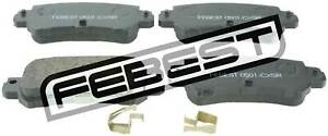 0501-CX5R-Genuine-Febest-Pad-Kit-Disc-Brake-Rear-K0Y1-26-48ZA