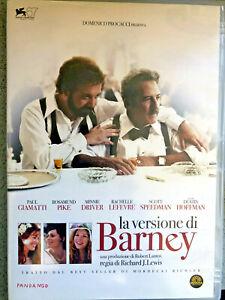 DVD-LA-VERSIONE-DI-BARNEY-CON-DUSTIN-HOFFMAN-Drammatiico-ITALIANO-ORIGINALE