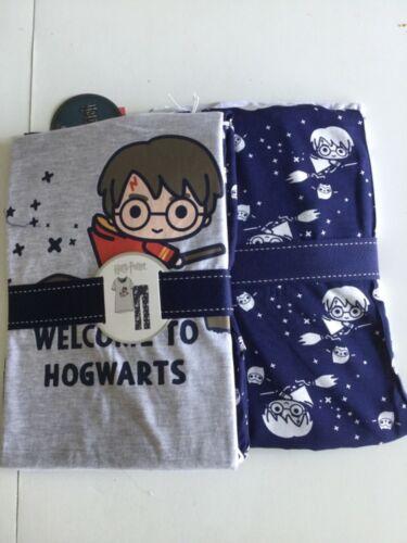 Primark HARRY POTTER cartoon hogwarts pyjamas set 10 12 14 16 BNWT