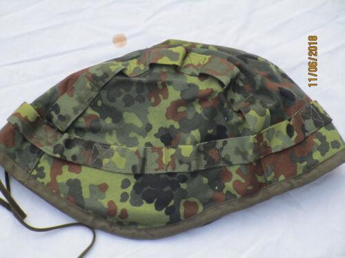 Gr 61-64,Tarnüberzug Aramid Helm Helmbezug Gefechtshelm,Flecktarn,wendbar