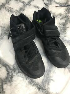 separation shoes 3d0e9 43f0f Image is loading Nike-Kyrie-2-Triple-Black-Basketball-Shoes-Sneakers-